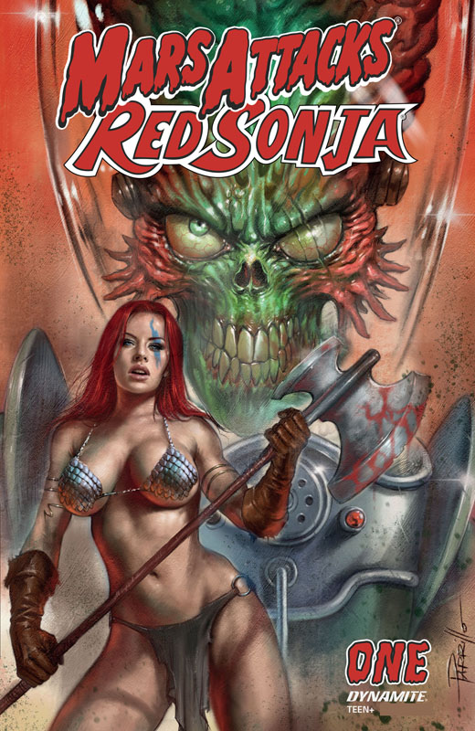 Mars Attacks - Red Sonja #1-4 (2020)