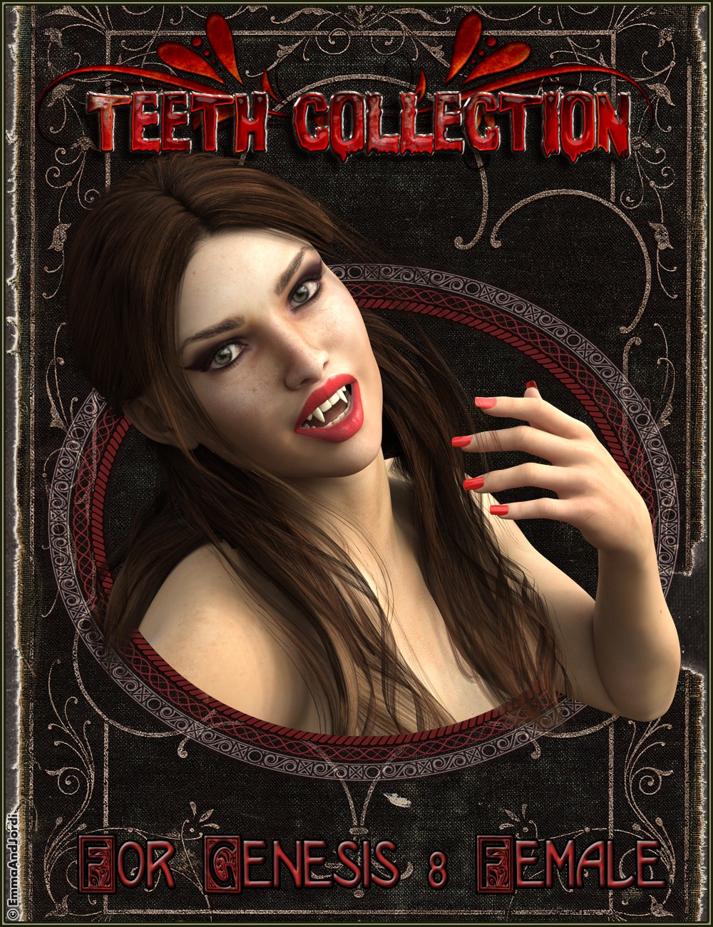 EJ Teeth Collection for Genesis 8 Female(s)