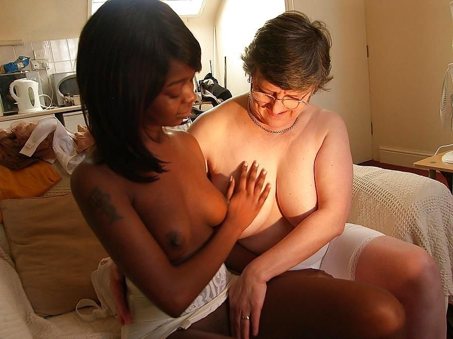 Old white guy young black girl-8139
