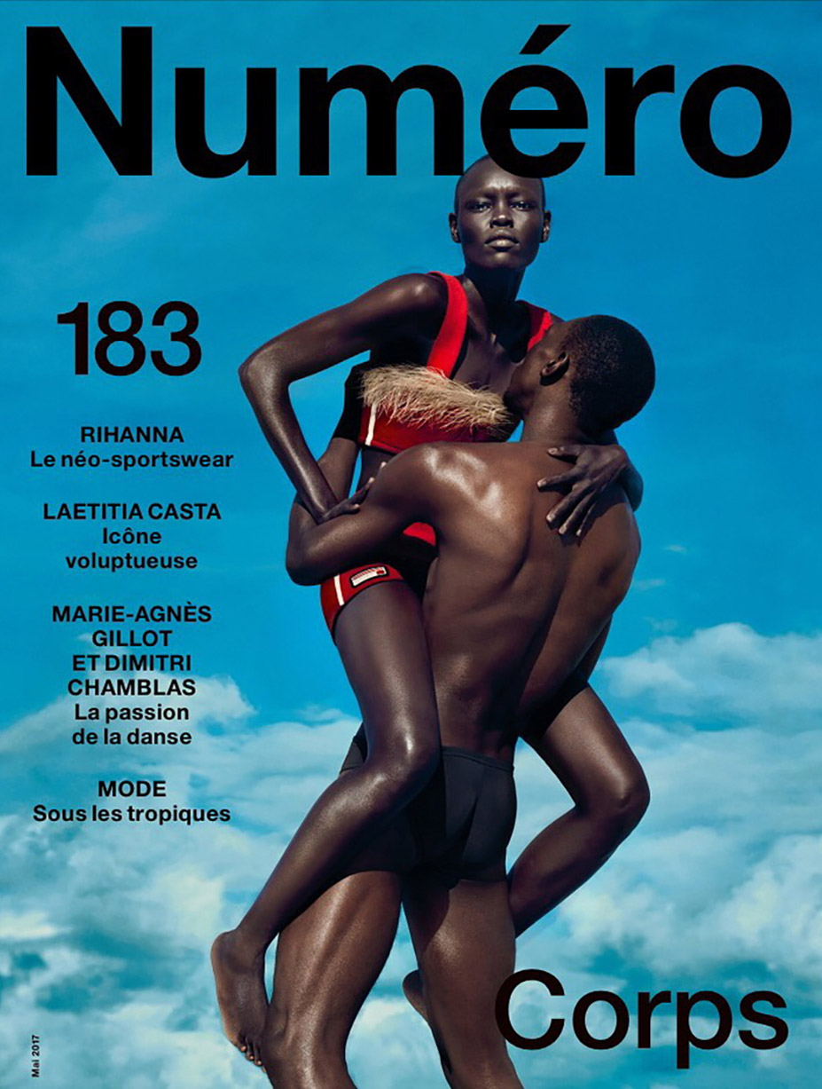 Grace Bol by Txema Yeste / Numero Magazine number 183 may 2017