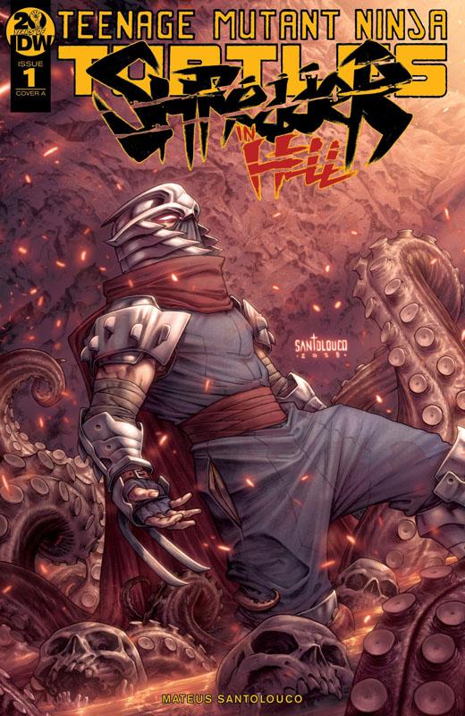 Teenage Mutant Ninja Turtles - Shredder in Hell #1-3 + Director's Cut (2019)