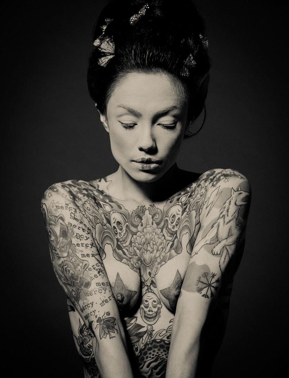 Гейша в татуировках / Geisha Ink by Reka Nyari