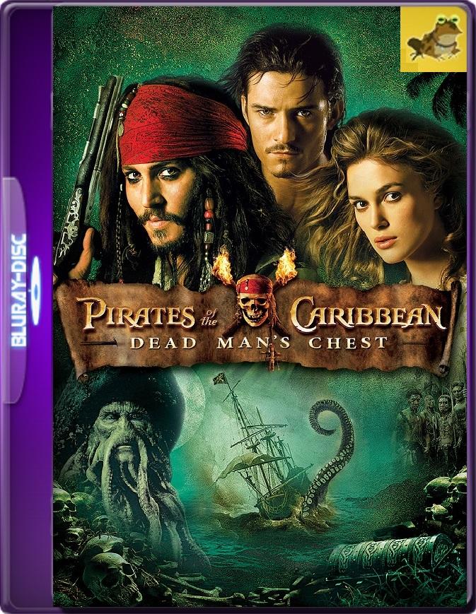 Piratas Del Caribe: El Cofre De La Muerte (2006) Brrip 1080p (60 FPS) Latino / Inglés