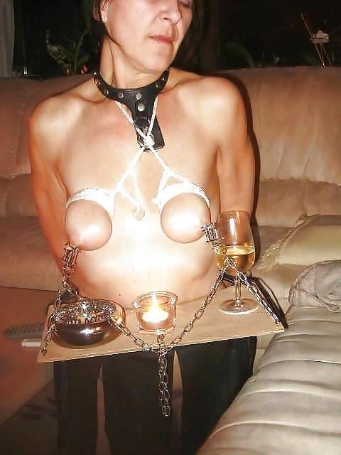 Breast bondage and torture-3134