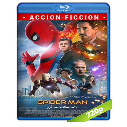 Spider-Man De Regreso A Casa 720p Lat-Cast-Ing 5.1 (2017)