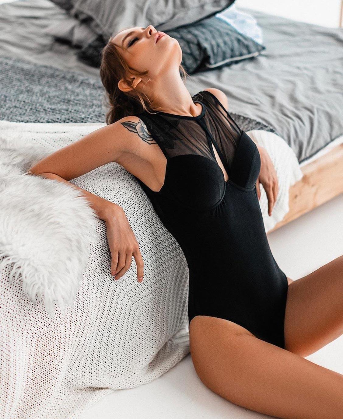Анастасия Щеглова в нижнем белье торговой марки MissX / фото 42