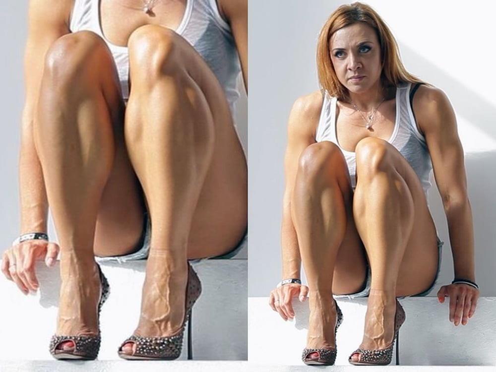 Bodybuilder female clit-6362