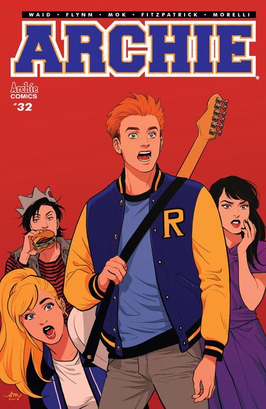 Archie Vol.2 #1-32, 699-700 (2015-2018)