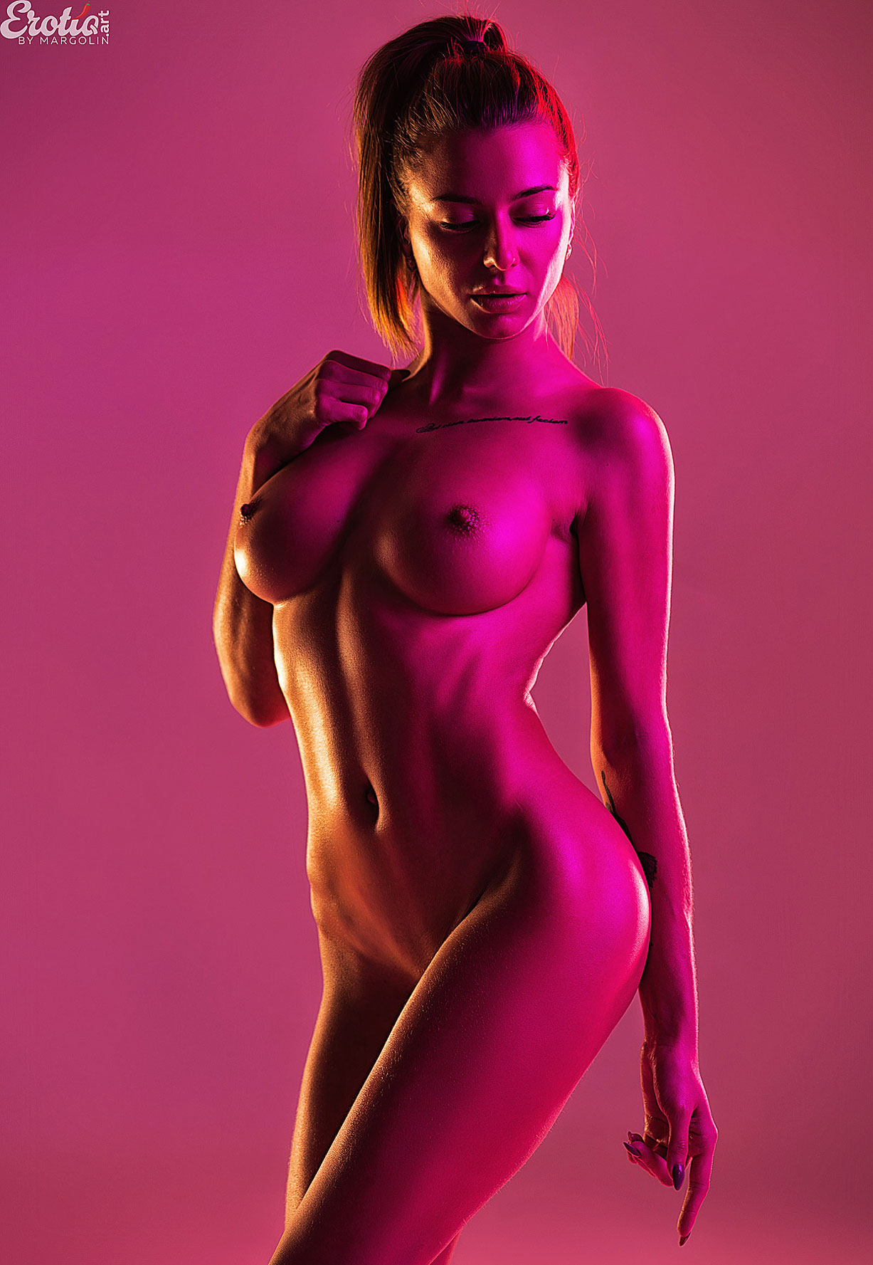 Sandra Wellness nude by Alexander Margolin