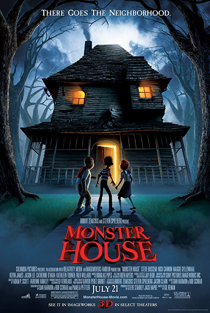Monster House (2006) [1080p BluRay] [Arabic Audio]