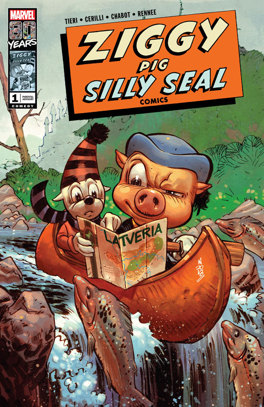 Ziggy Pig - Silly Seal Comics 001 (2019)