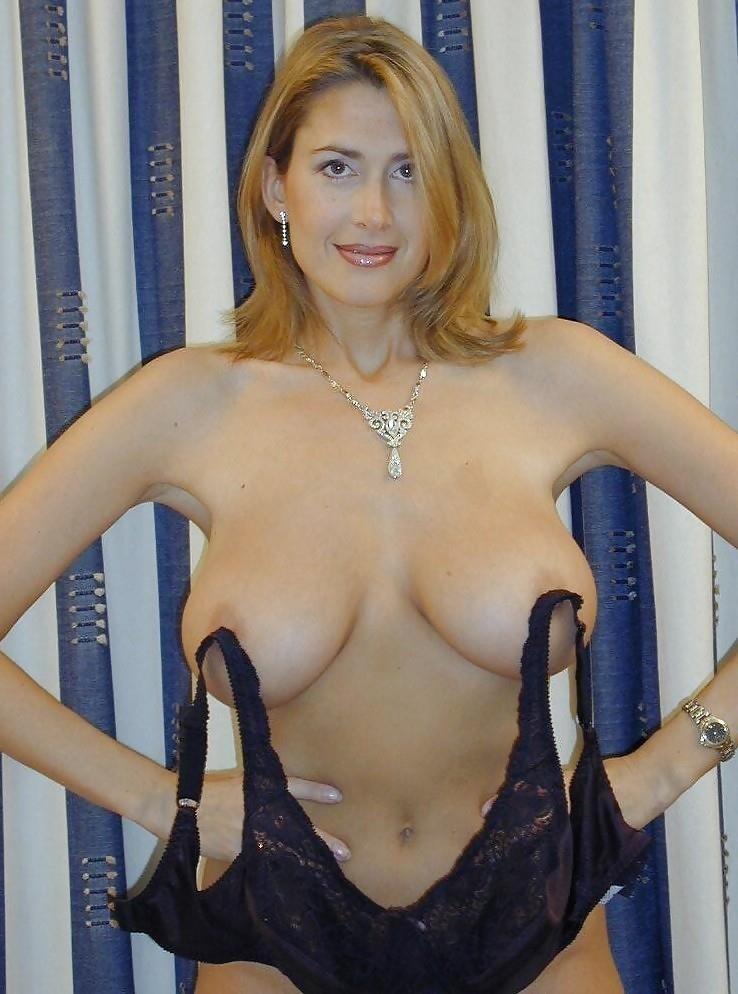 Hot big tits blonde milf in first porn mompov-7840