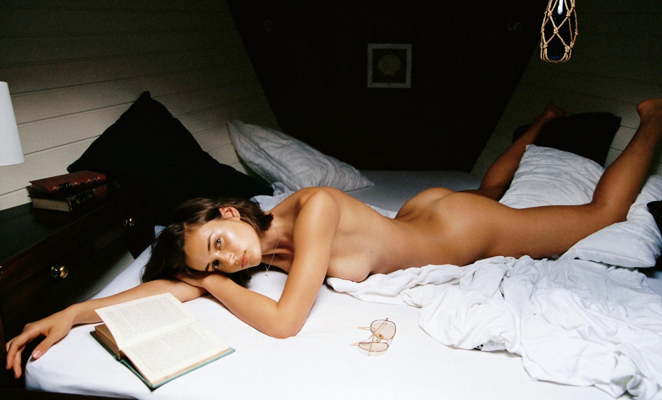 Johanne Landbo by Cameron Hammond - Playboy US november-december 2017