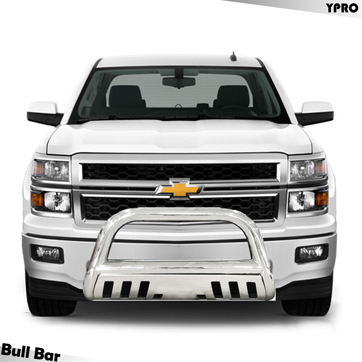 2017 2016 Ford F250 350 Super Duty Bull Bar Chrome Grilles Guard With Skid