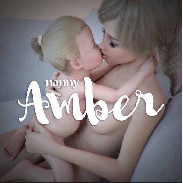 [Starkers] Nanny Amber