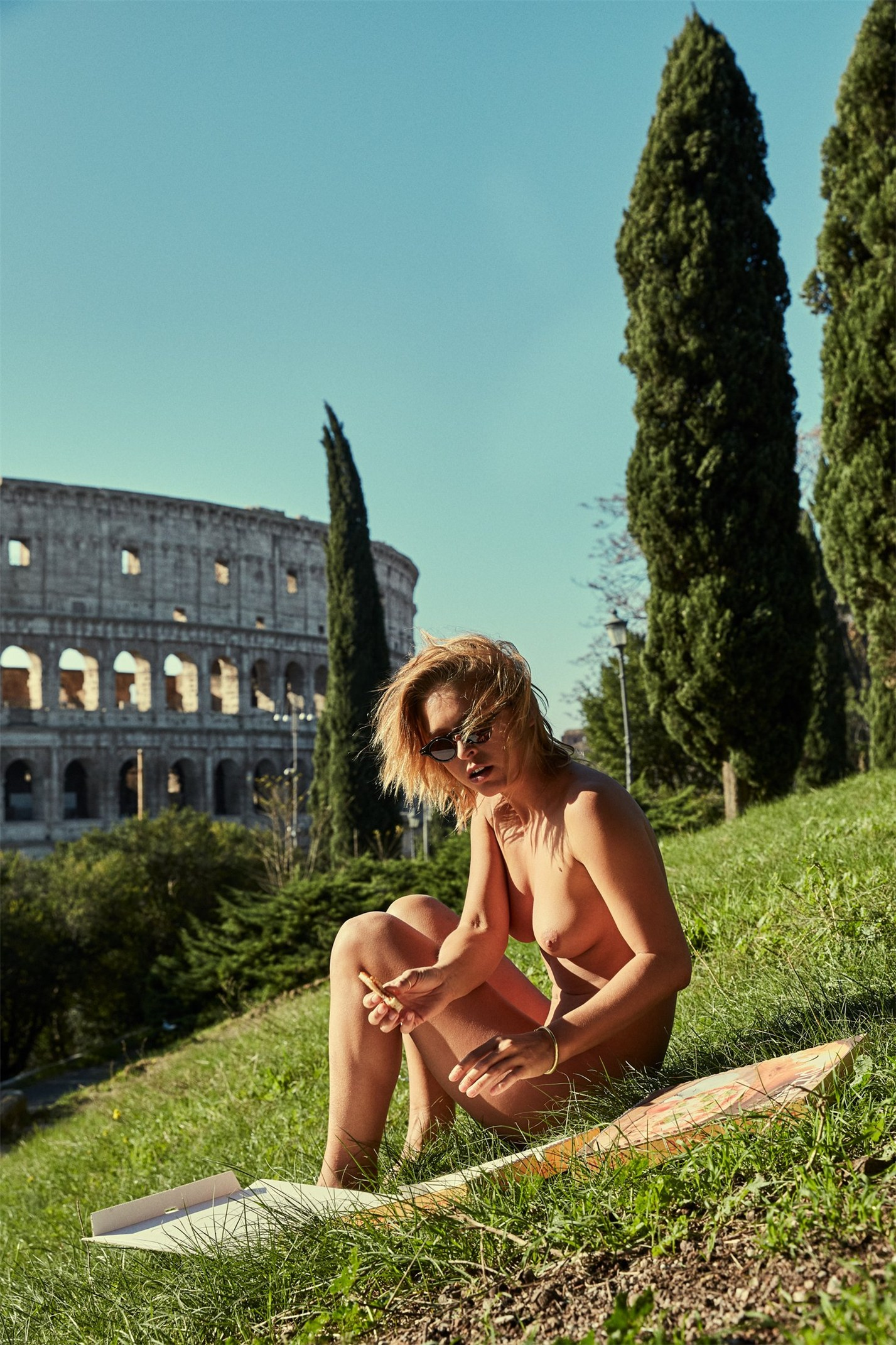 Marisa Papen nude in Vatican by Jesse Walker