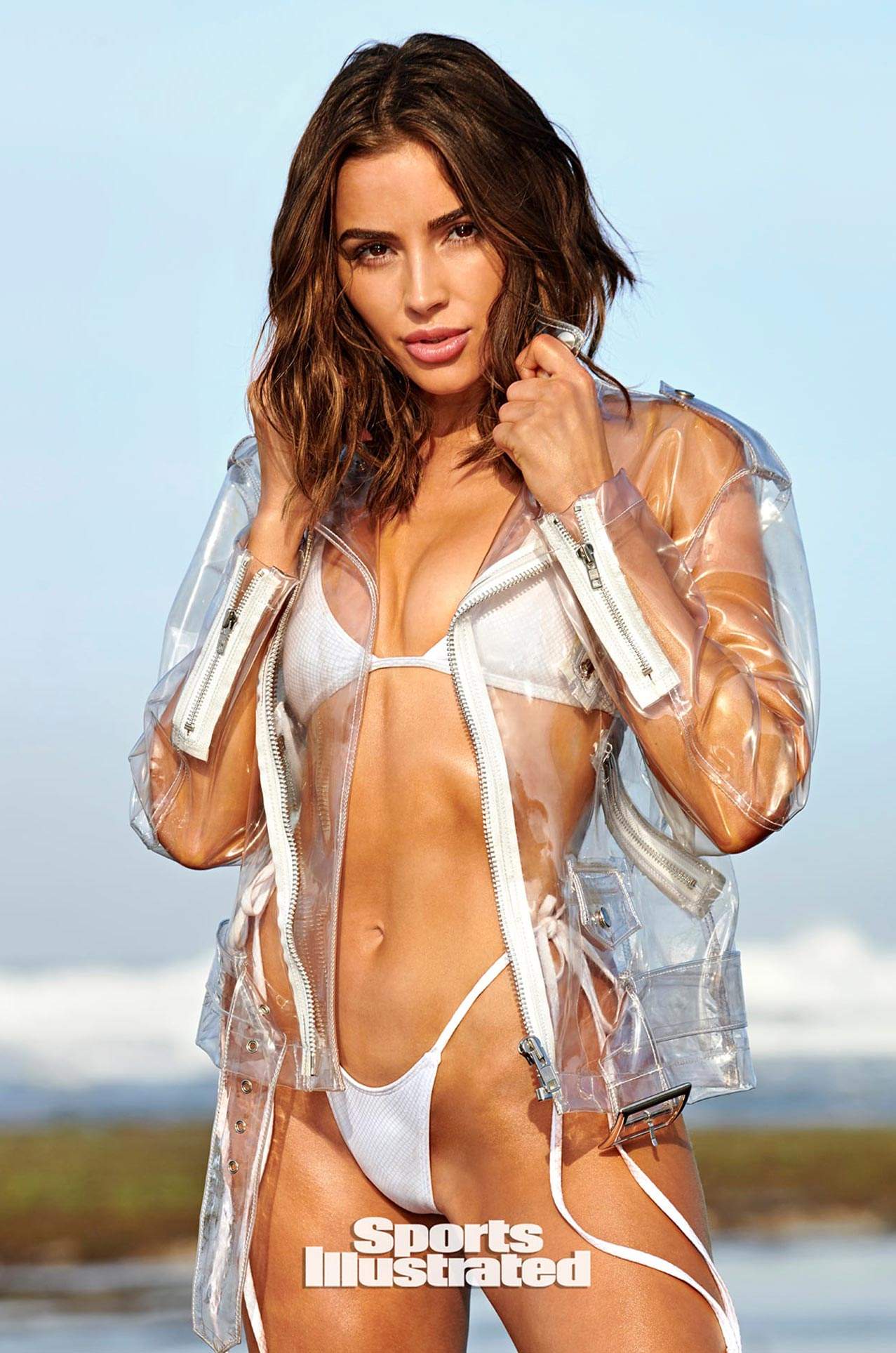 Оливия Калпо в каталоге купальников Sports Illustrated Swimsuit 2020 / фото 12