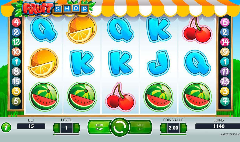 автомат с фруктами
