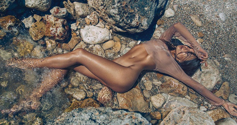Ana Andreea Tomouanu nude by Silviu Sandulescu
