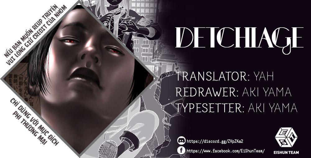 Detchiage - Thầy Giáo Sát Nhân Chapter 3