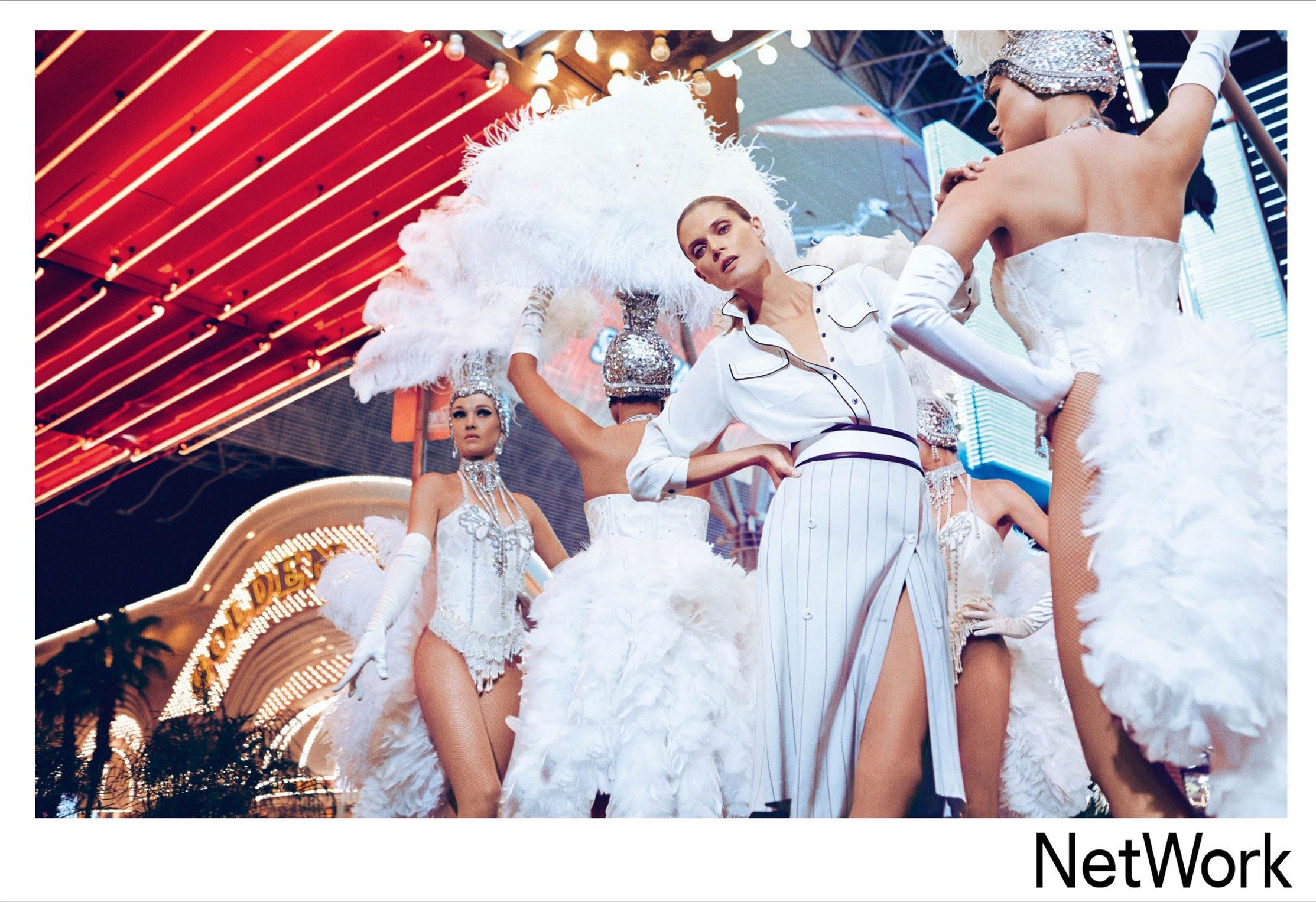 супермодель Малгоша Бела в рекламной кампании турецкого модного бренда Network, сезон весна-лето 2015 / фото 09