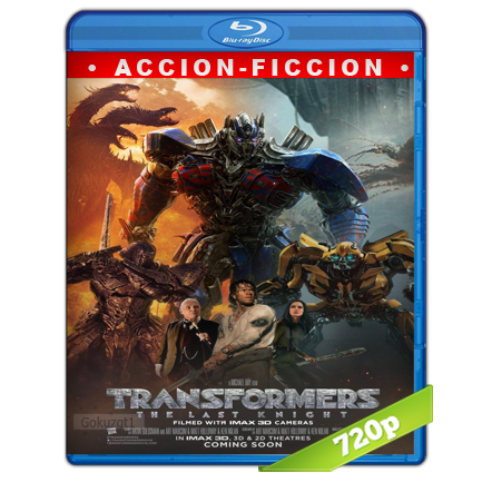 Transformers 5 El Ultimo Caballero (2017) BRRip 720p Audio Trial Latino-Castellano-Ingles 5.1