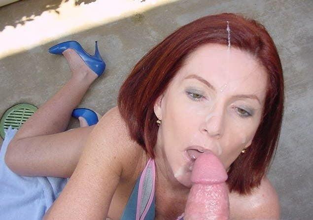 Red head blow job pics-8187