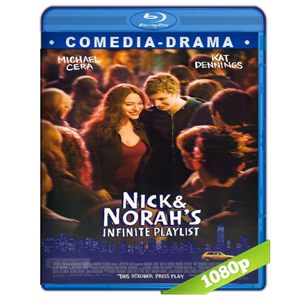 Nick Y Norah Una Noche De Musica Y Amor (2008) BRRip Full 1080p Audio Trial Latino-Castellano-Ingles 5.1
