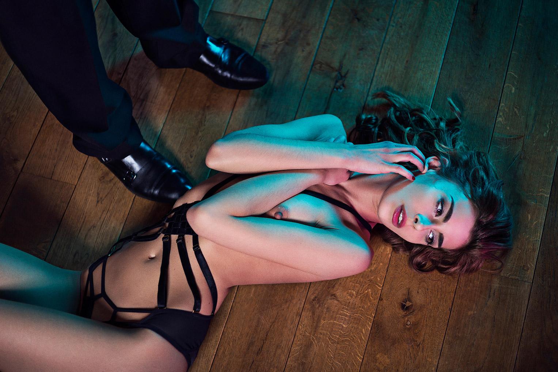 Unfulfilled Desire / Celine Germain nude by Miluniel