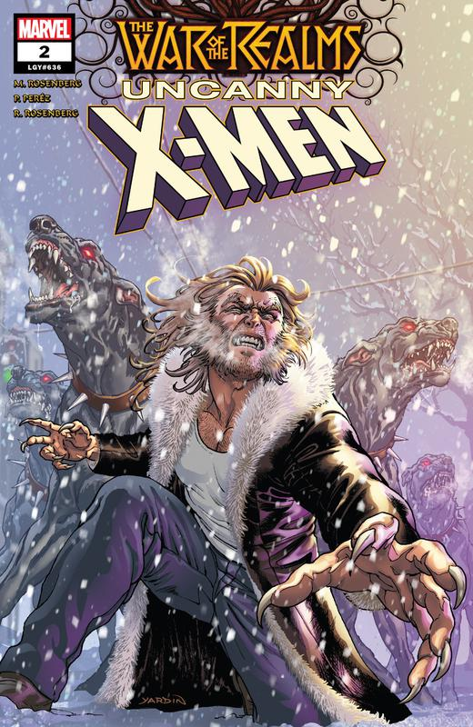War of the Realms - Uncanny X-Men #1-3 (2019) Complete