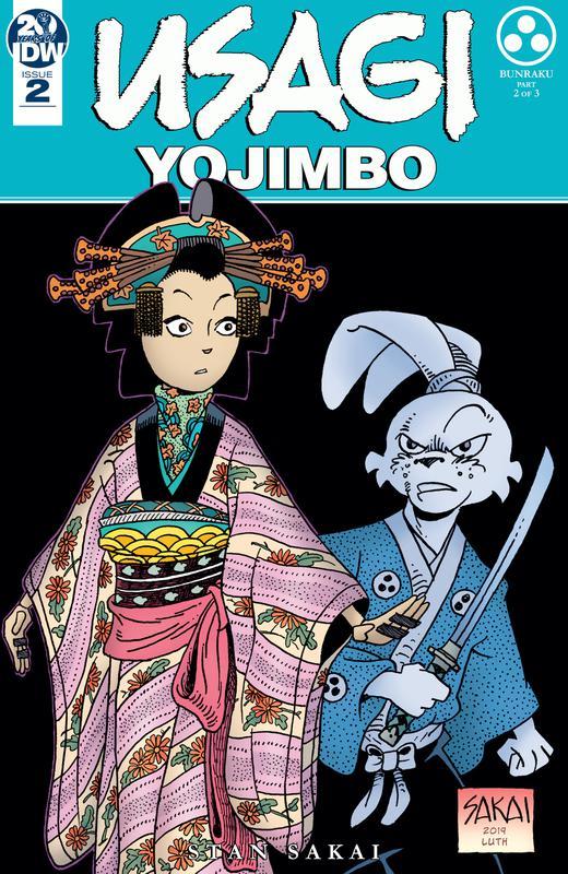 Usagi Yojimbo #1-7 (2019)