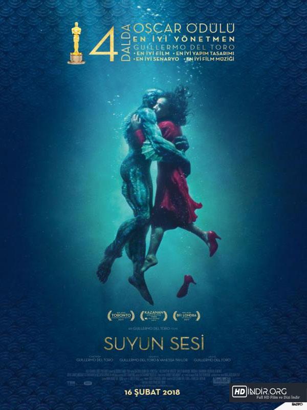 Suyun Sesi - The Shape of Water (2017) Türkçe Dublaj Full HD indir