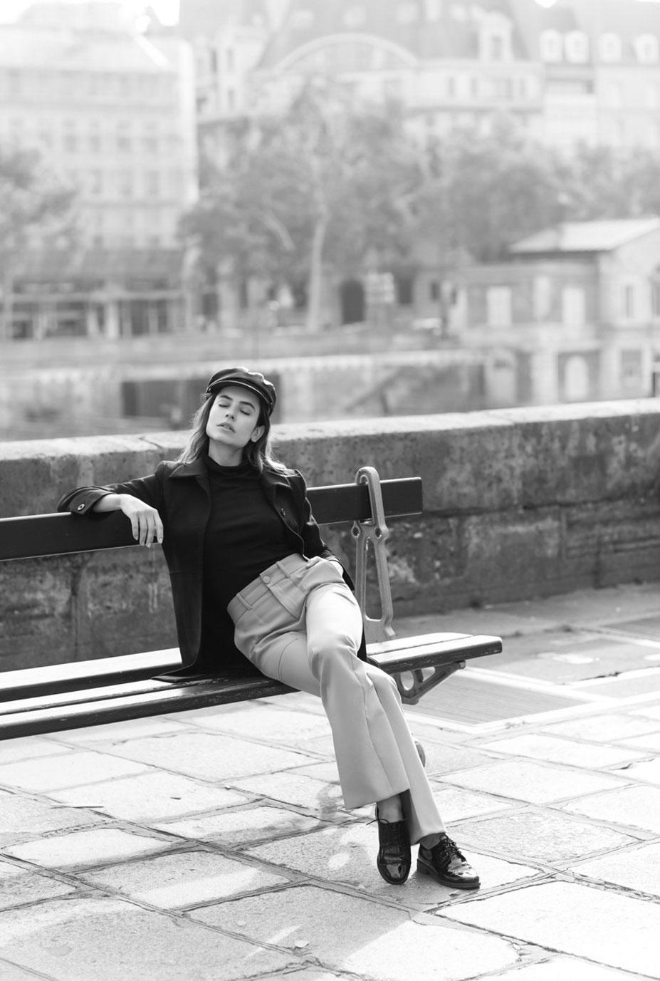 Крис Норонья на утренней прогулке по острову Сен-Луи в Париже / фото 16