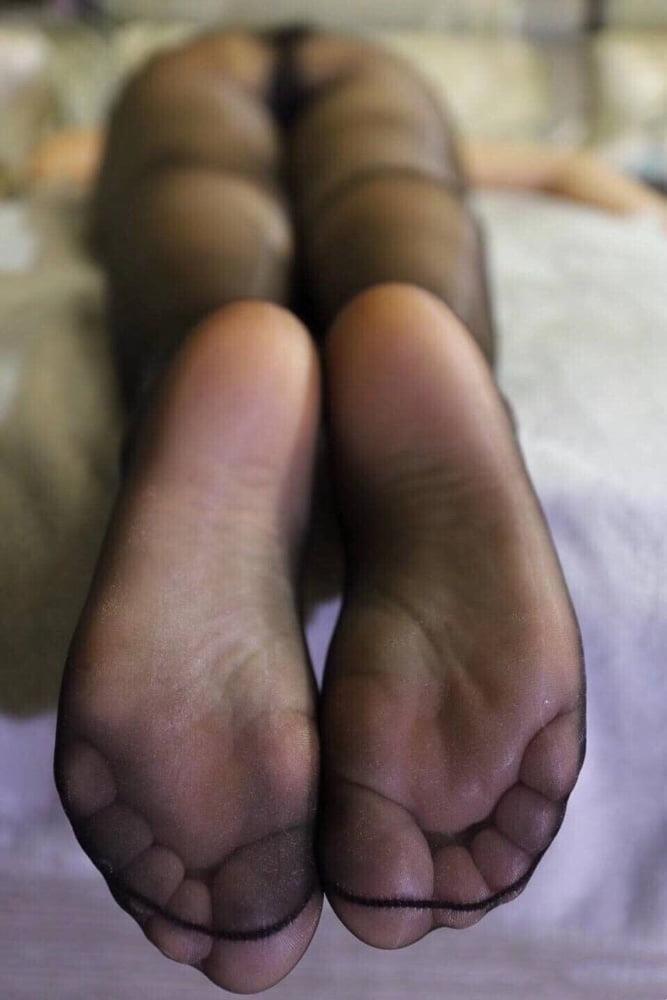 Nylon feet porn hd-5247