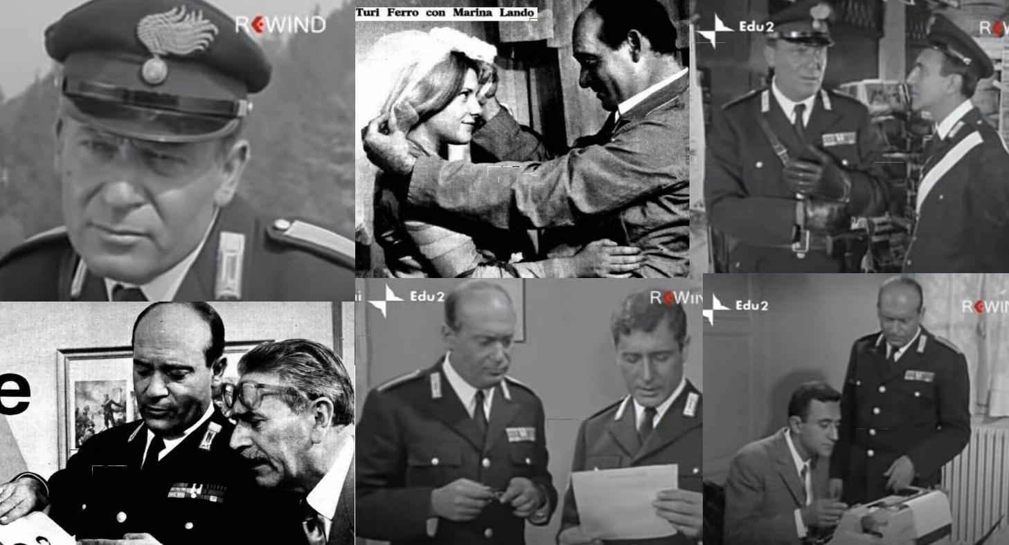 POLIZIOTTI, DETECTIVE E AGENTI SEGRETI DELLA TV ANNI SESSANTA