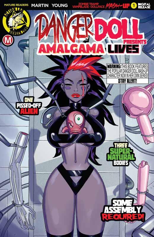 Danger Doll Squad Presents - Amalgama Lives! #1-3 (2019)
