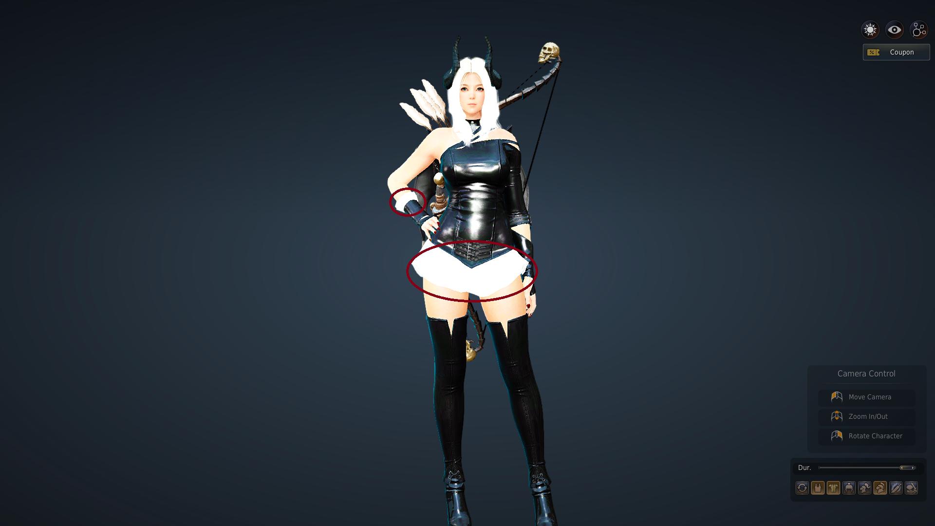 Black Desert Online -Nude body, Costume Mods for Meta
