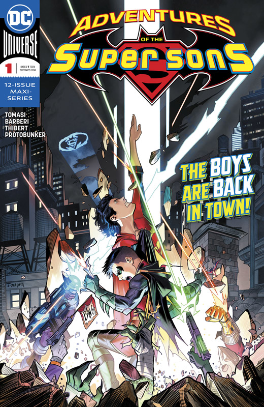 Adventures of the Super Sons #1-2 (2018)