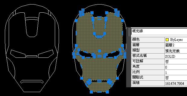 [練習]AutoCAD 2D實務幾何繪製-鋼鐵人 G0Mx0ruq_o