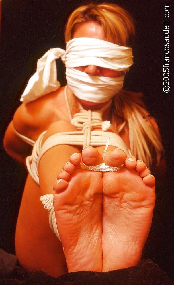Bondage tickle feet-1192