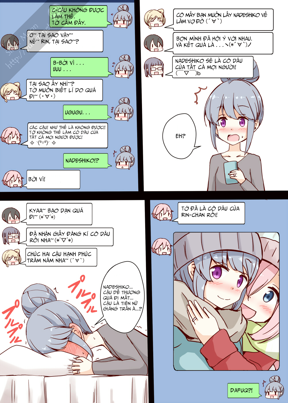 Yuru Camp Strip: Chapter 1