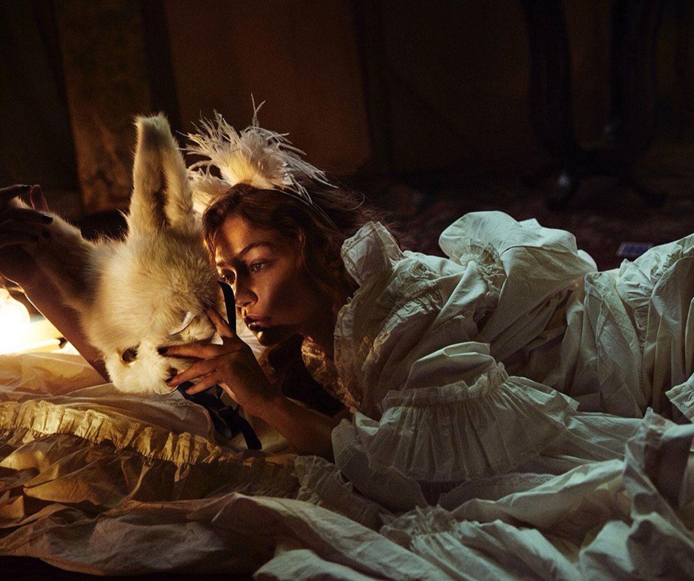 В логове бешеных кроликов с Джиджи Хадид / Rabbit Hole - Gigi Hadid by Mikael Jansson - Love Magazin issue 20 fall/winter 2018-19