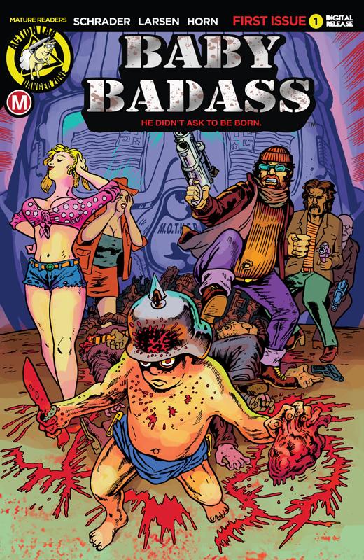 Baby Badass #1-3 (2018)