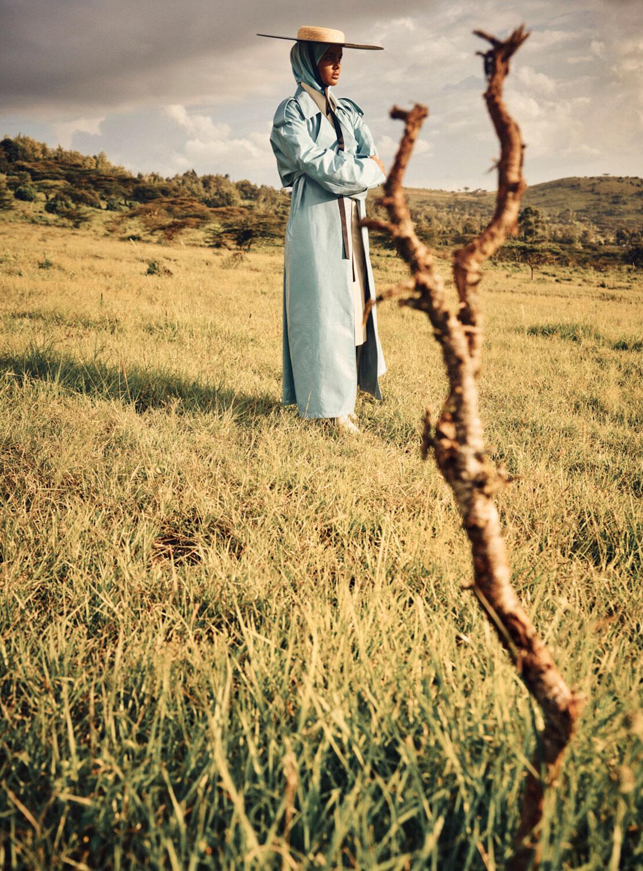 Халима Аден путешествует по Кении / фото 07