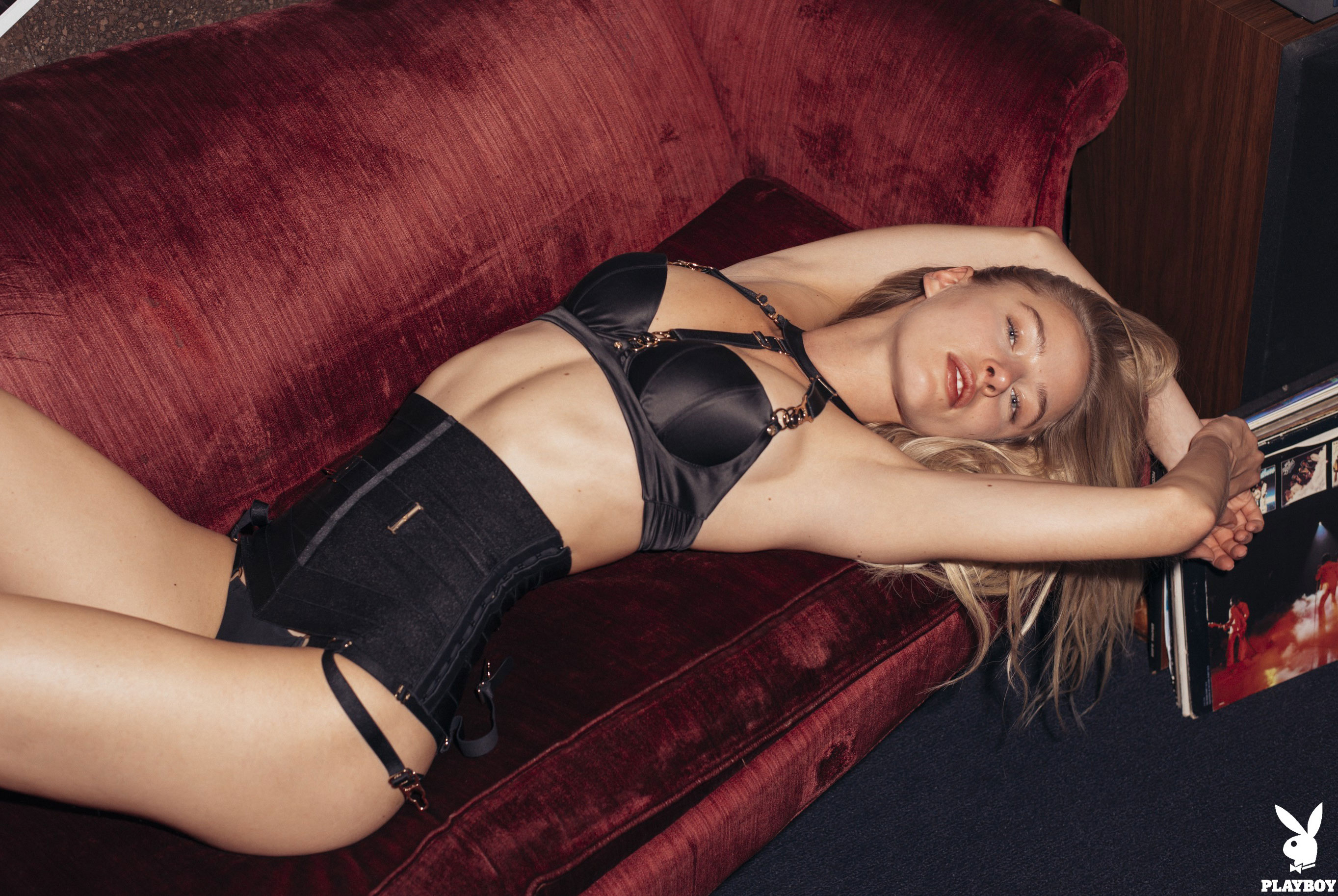 Daria Savishkina nude in Electric Lady Studios - Playboy US september/october 2017 / photo by Christopher von Steinbach
