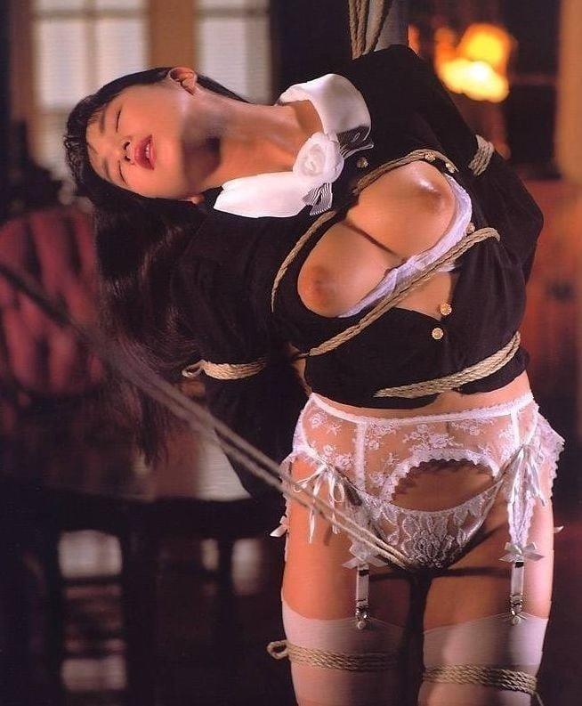 Rope bondage girl-5524