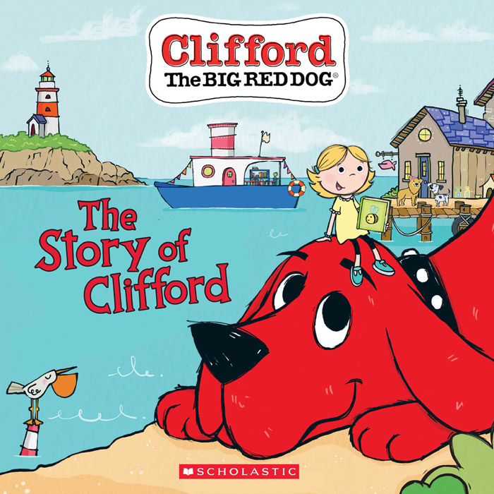 The Story of Clifford - (Clifford the Big Red Dog Storybook) (2020)