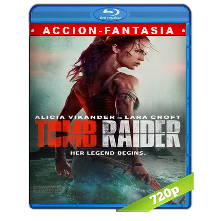 descargar Tom Raider Las Aventuras De Lara Croft 720p Lat-Cast-Ing 5.1 (2018) gratis