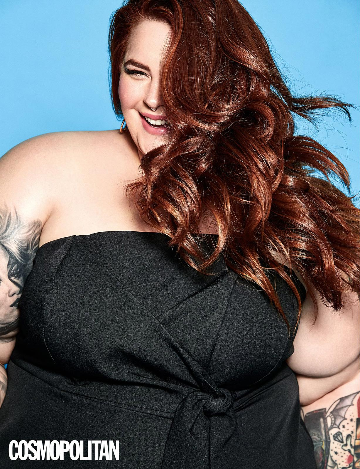 plus-plus-model Tess Holliday - Cosmopolitan UK october 2018