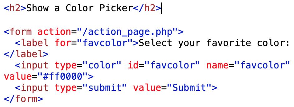 color picker code example